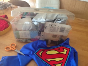 Putting together a costume
