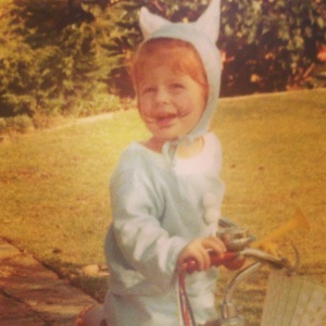 Evie Halloween - age two