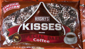 coffee kisses... get it? (Yum. I want these.)